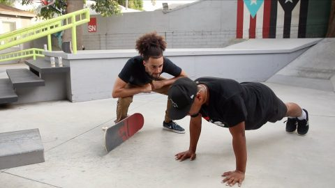 I Hired a Pro Skater as a Coach *Part 1* | Lamont Holt