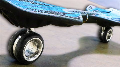 I TOOK APPLE'S $700 WHEELS AND MADE A RIPSTIK | Braille Skateboarding