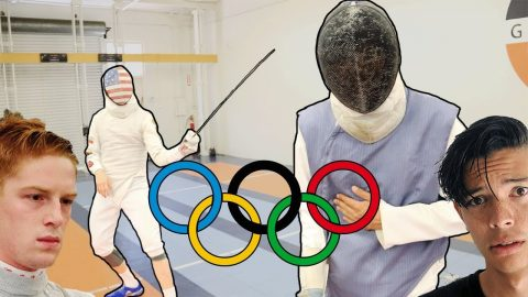 I TRIED STABBING AN OLYMPIC FENCER - Chris Chann