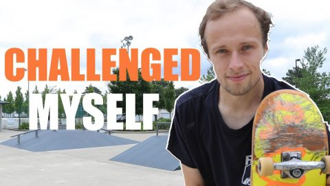 I WENT TO WOODRIDGE SKATEPARK AND GOT CLIPS OF MYSELF | Max Williams