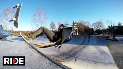 Icy Mini Ramp Sessions - Niklas Ehnberg's Slams & NBD's - RIDE Channel