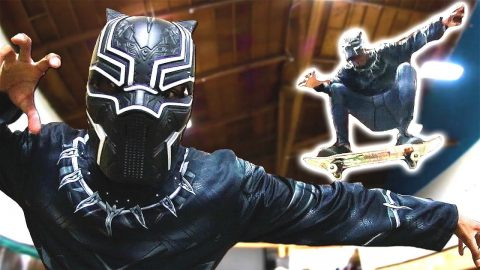 IF BLACK PANTHER WAS A SKATER! - Braille Skateboarding