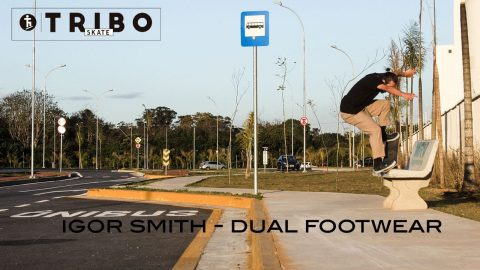 Igor Smith na Dual Footwear - Tribo Skate