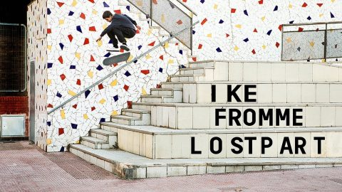 Ike Fromme - Lost Part | Pocket Skateboard Magazine