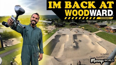 Im Back At WOODWARD!(PAINTBALL) | MannysWorld