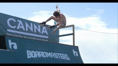 In Search of the Canna Ramp reaches it's destination; Boardmasters | Sidewalk Mag