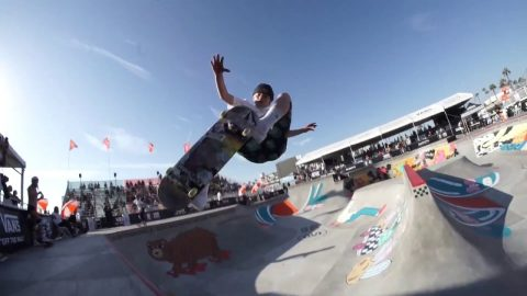 In The Park with CJ Collins | Huntington Beach | Vans Park Series | Park Series