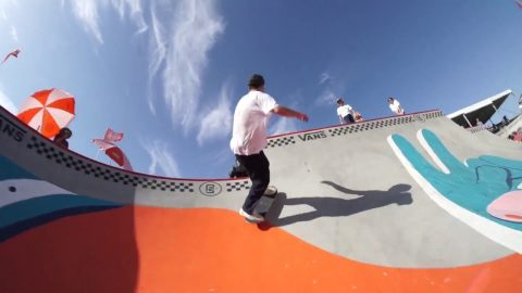 In The Park with Pedro Barros | Huntington Beach | Vans Park Series | Park Series