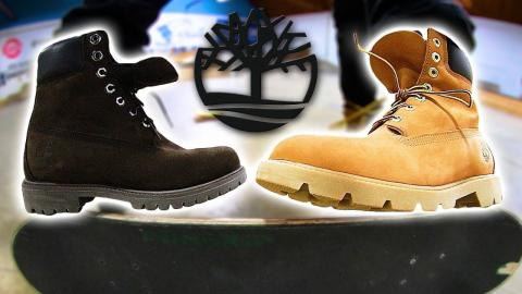 INCREDIBLE TIMBERLAND BOOTS STUPID SKATE | STUPID S K A T E Ep. 128 - Braille Skateboarding