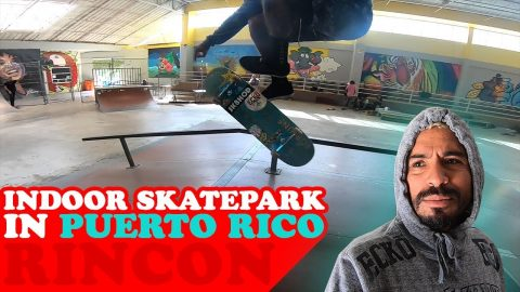 Indoor Skatepark In Puerto Rico(ONLY PARK) | MannysWorld