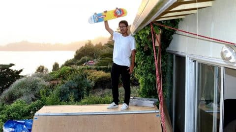 INSANE MINI RAMP BEACH HOUSE! - Luis Mora