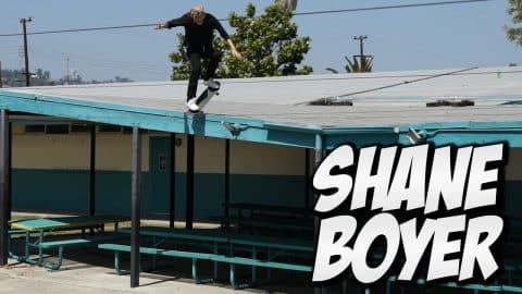 INSANE ROOF SKATER !!! SHANE BOYER - A DAY WITH NKA - - Nka Vids Skateboarding