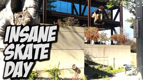 INSANE SKATE DAY WITH DARRIUS AND MAURICE JORDAN !!! - NKA VIDS - | Nka Vids Skateboarding