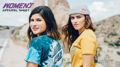 Inside look- SC Apparel Shoot w/ Fabiana and Yndiara | Santa Cruz Skateboards