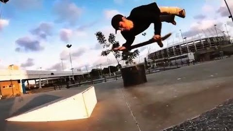 INSTABLAST! - AMAZING Skateboarding ARMS ONLY!! 12ft Drop Heelflip Indy!! Xtreme Fisheye DESTROYED!! | Metro Skateboarding