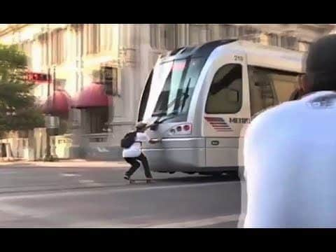INSTABLAST! - GNARLY TRAIN SKITCHING!?!! Wallie Master Session!! Blunt Triple Flip OUT!! - Metro Skateboarding