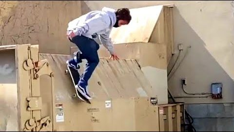 INSTABLAST! IMPOSSIBLE noseslide, bs 360 nosegrab to 5-0, TONY HAWK does a kickflip, dumpster dive | Metro Skateboarding
