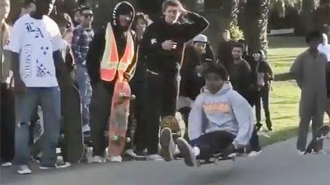 INSTABLAST! - INSANE SF HillBOMB PARTY!! Double Flip CHRIST AIR In TIMBS!! Skate On Thin ICE!! | Metro Skateboarding
