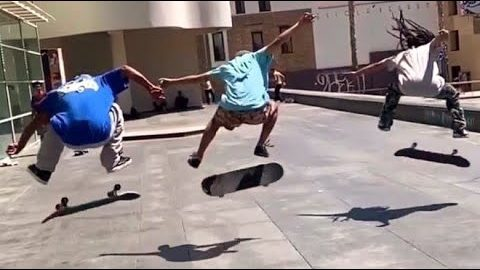 INSTABLAST! kickflip tuck knee, HUGE bs flip,switch 5-0 tre flip, lazer flip bs lip, pop shuv trash | Metro Skateboarding