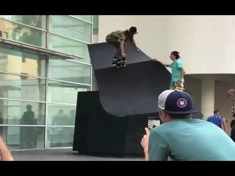 INSTABLAST! - Massive Double Set Bs 360!! Hardflip Late Shuv Macba!! Bs Flip Switch 5050 Rail!! - Metro Skateboarding