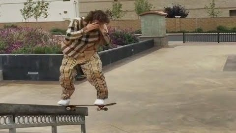 INSTABLAST! - NO LOOK BS TAILSLIDE HANDRAIL!! Bs 360 Late Back Foot Flip!! HUGE Wood Rail Battle!! - Metro Skateboarding
