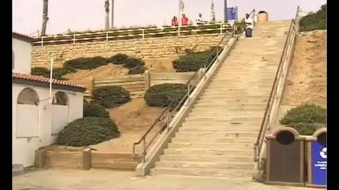 INSTABLAST! - TWEAKER Vs 36 STAIR RAIL! BS Flip Late Bigspin Over Fence! Filmer Snaps Skaters Board! | Metro Skateboarding
