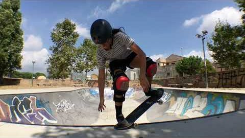 Instax Skateboard Park Competition Women's 3rd Place | Roxana Botu - FISE