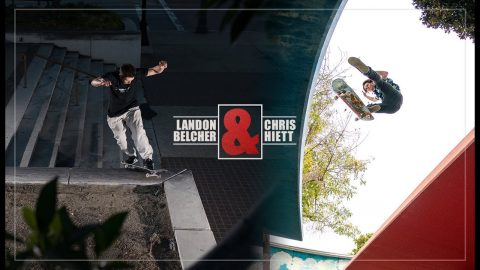 Introducing Landon Belcher & Chris Hiett | 'Drollbaton' | The Berrics