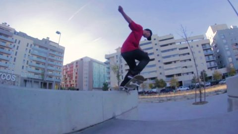 INTRODUCING SEBAS GARCIA - NOMAD SKATEBOARDS | Nomadskateboards