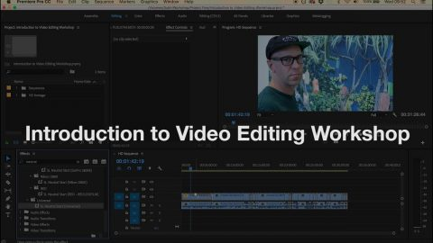 Introduction to Adobe Premiere Pro Workshop | Phil Evans