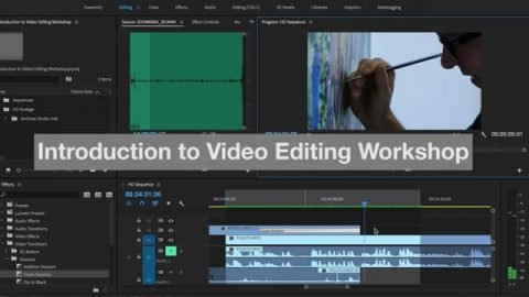 Introduction to Video Editing Workshop - Philip Evans