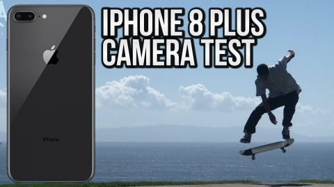 iPHONE 8 PLUS 4K CAMERA TEST SHOTS Feat. VINCENT LUEVANOS - Nka Vids Skateboarding