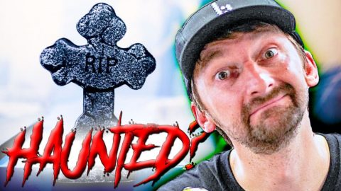 IS OUR PRIVATE SKATEPARK HAUNTED? OVERNIGHT GHOST HUNTERS LIVE STREAM! | Braille Skateboarding
