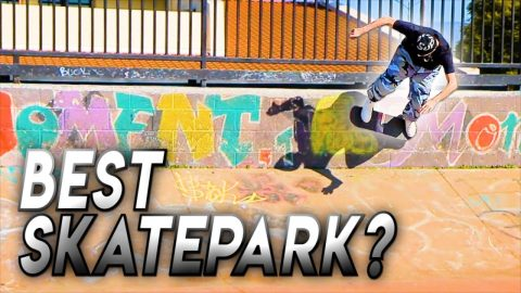 IS THIS THE BEST SKATEPARK IN THE BAY AREA?! | Braille Skateboarding