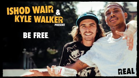 "Ishod Wair & Kyle Walker's ""BE FREE"" video 
