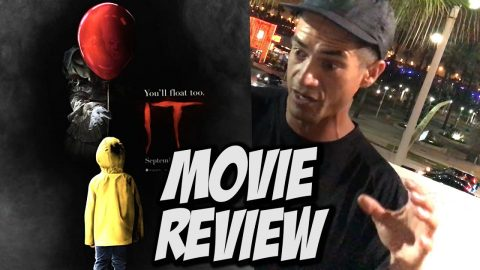 It Movie Review With Nka Vids & Friends - Nka Vids Skateboarding