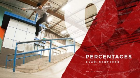 Ivan Monteiro - Percentages - The Berrics