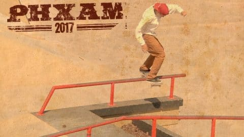 Ivan Monteiro's 3rd Place Run at Phx Am 2017 - ThrasherMagazine
