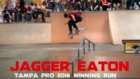 Jagger Eaton: 1st Place Run | Tampa Pro 2018 | Independent Trucks - Independent Trucks