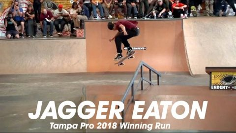Jagger Eaton: Tampa Pro 2018 | 1st Place Run - Mob Grip