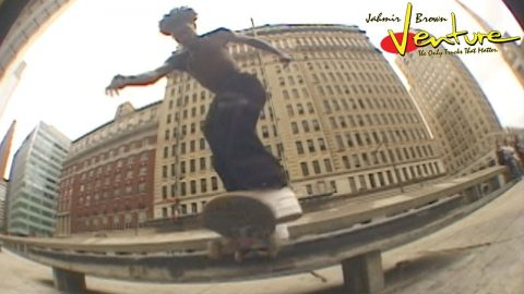 JAHMIR BROWN : VENTURE PART | Venture Trucks
