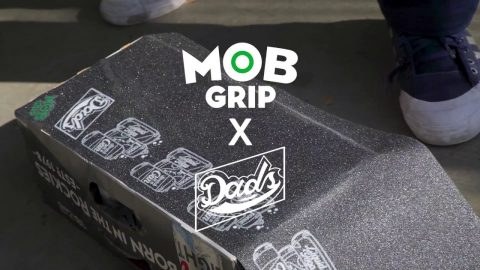 Jake Donnelly, Robbie Brockel, and Dan Plunkett Shred the NEW Graphic MOB x DADS Grip | MOB Grip - Mob Grip