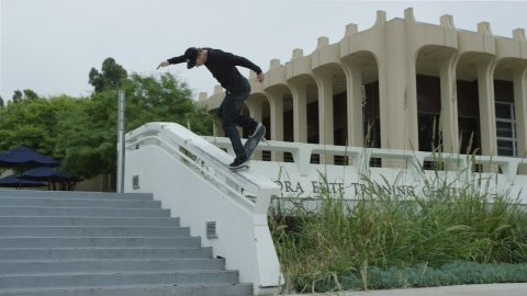 Jake Hayes - Back Noseblunt UCI / All Attempts / 4K | thejoeface1