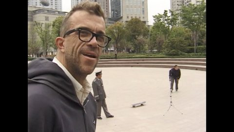 Jake Phelps RIP Andrew Allen Switch Ollie Disaster Moment | Skateintheday
