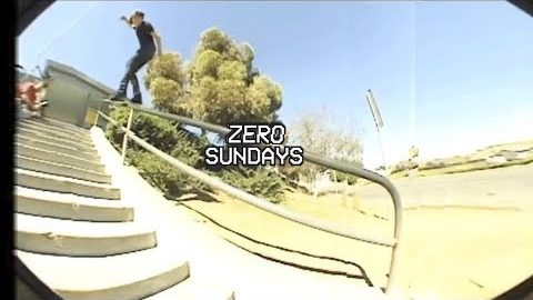 James Brockman Archival Footage | Zero Sundays - ep 13 | Zero Skateboards
