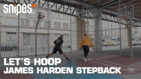 James Harden Stepback 3 | Tutorial | SNIPES