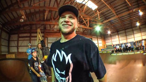 Jamie Foy in the Playground | Woodward Camp