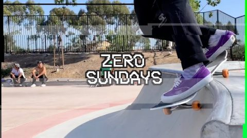 Jamie Thomas 45 tricks on his 45th Birthday | Zero Sundays ep 19 | Zero Skateboards