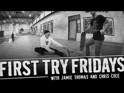 Jamie Thomas - First Try Friday - The Berrics