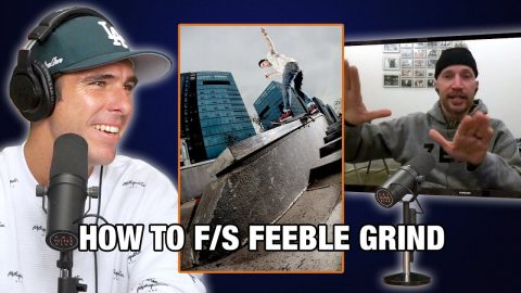 Jamie Thomas Teaches Us How To Frontside Feeble Grind! | Nine Club Highlights